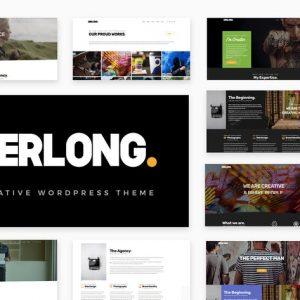 gerlong responsive one page multi page portfol