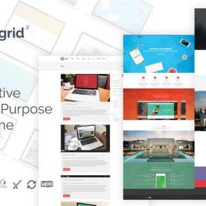 grid x creative multipurpose wordpress theme