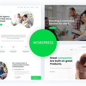 gullu agency multipurpose wordpress theme