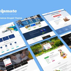 helpmate 6 in 1 maintenance wordpress theme