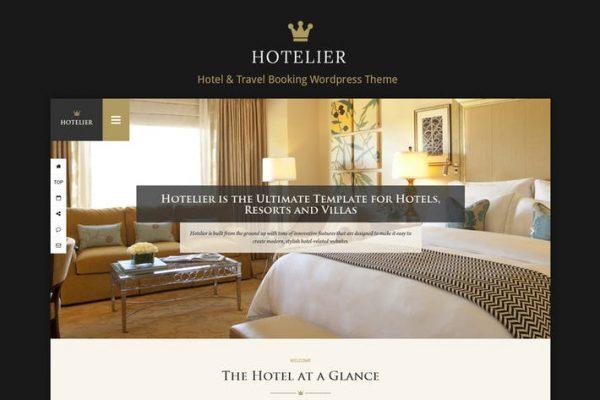 Hotelier - Hotel & Travel Booking WordPress Theme