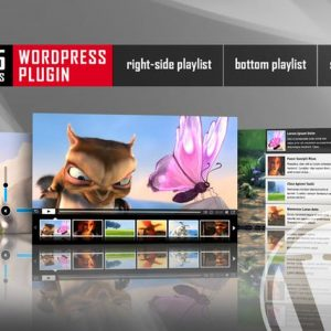 HTML5 Video Player With Playlist WordPress Plugin