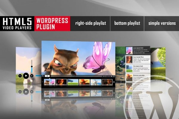 HTML5 Video Player With Playlist WordPress Plugin