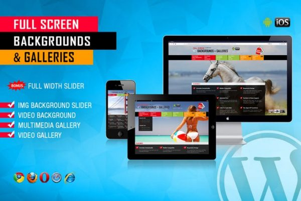 Image and Video FullScreen Background WP Plugin