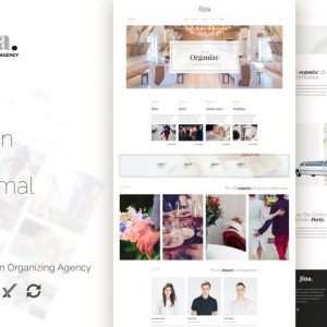Jina - Celebration Agency WordPress Theme