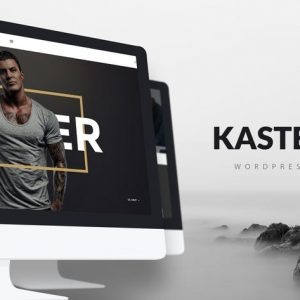 kaster creative blog portfolio wordpress theme