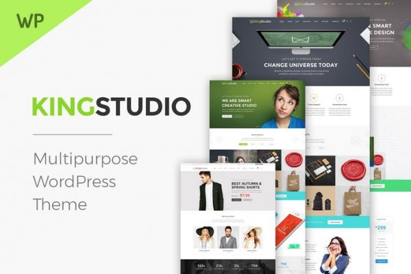 Kingstudio - Studio WordPress Theme