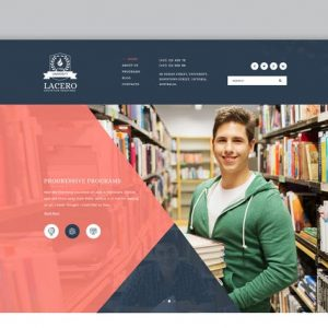 Lacero - Education & University WordPress Theme