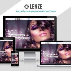 lenze portfolio photography wordpress theme