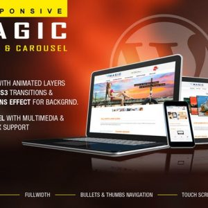 Magic Responsive Slider and Carousel - WP Plugin