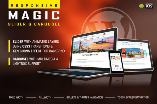 Magic Responsive Slider and Carousel - WP Plugin