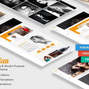 Martian | Photography & Studio Purpose WordPress
