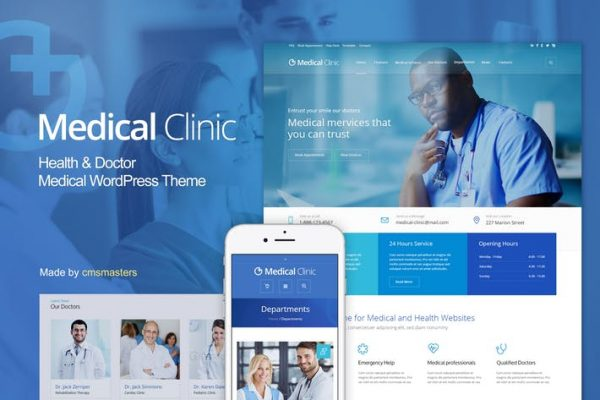 Medical Clinic - Health & Doctor Medical WP Theme