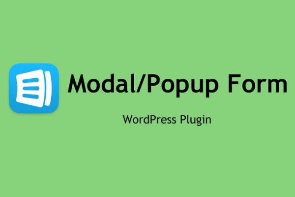Modal Form - WordPress Plugin