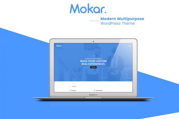 Mokar - Modern Multipurpose WordPress Theme