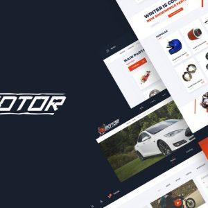 Motor – Vehicles & Parts WordPress Theme