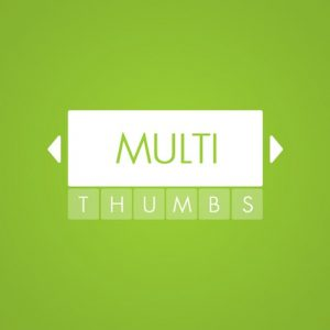 Multi-Thumbs Slider for WordPress