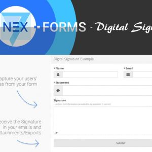 NEX-Forms - Digital Signatures Add-on