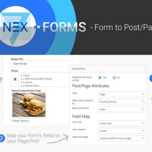 NEX-Forms - Form to Post/Page Add-on
