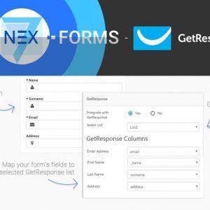 NEX-Forms - GetResponse Add-on