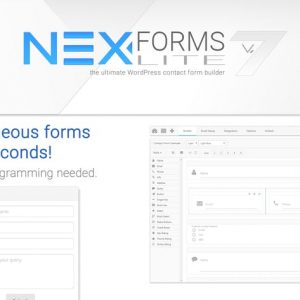 NEX-Forms Lite - WordPress Form Builder Plugin