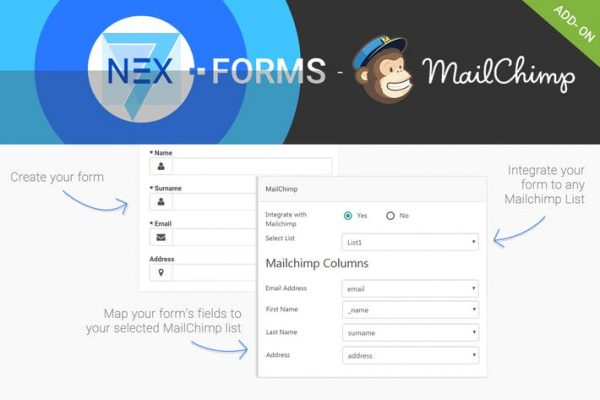 NEX-Forms - MailChimp Add-on