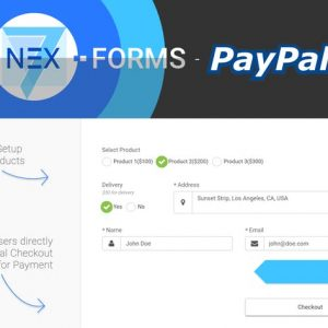 NEX-Forms - PayPal Add-on
