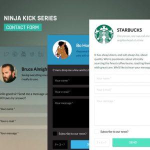 Ninja Kick: WordPress Contact Form Plugin