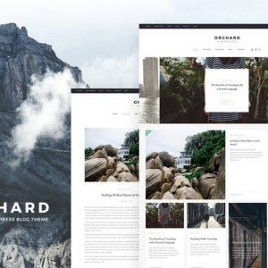 Orchard - Personal WordPress Blog Theme