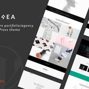 Ourea - Creative Portfolio / Agency WP Theme