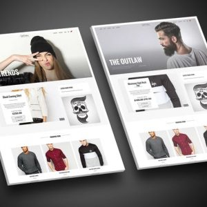 Outlaw - Stylish WooCommerce WordPress Theme