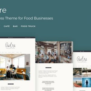 padre cafe restaurant wordpress theme