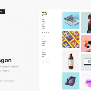 Paragon - Colorful Portfolio WordPress Theme