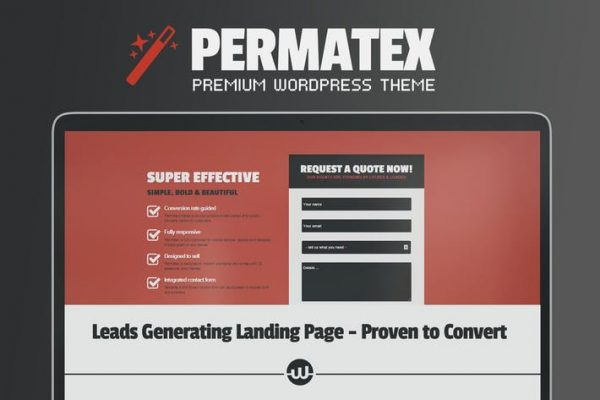 permatex leads generating landing page