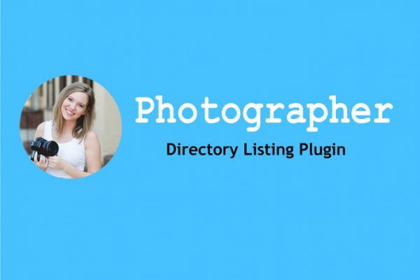 Photographer Directory - WordPress Plugin