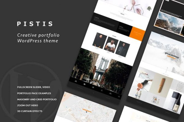 Pistis - Portfolio / Agency WP Theme