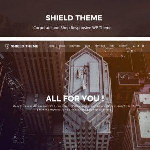 shield creative responsive wordpress theme