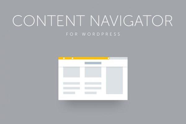 Site Content Navigator for WordPress