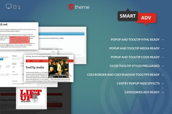SmartADV - Tooltips, Banners and Popups for WP