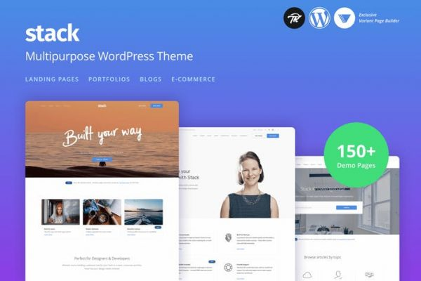 Stack - Multi-Purpose Responsive WordPress Theme