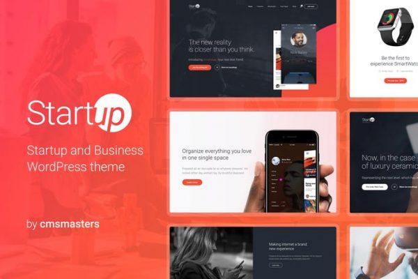 Startup Company - Business & Technology WP Theme