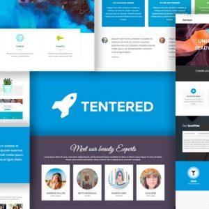 Tentered - Multi Purpose WordPress Theme