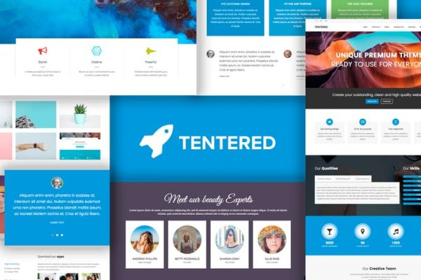 Tentered - Multi Purpose WordPress Theme
