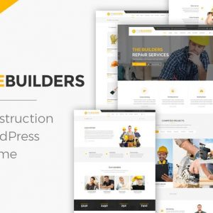 The Builders - Construction WordPress Theme