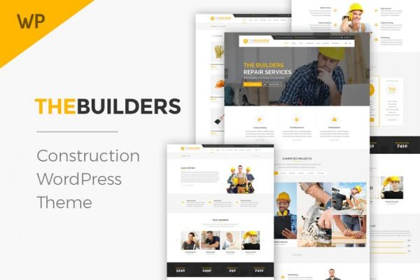 The Builders - Construction WordPress Theme