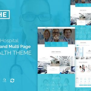 The Hospital - One and Multi Page Health Theme