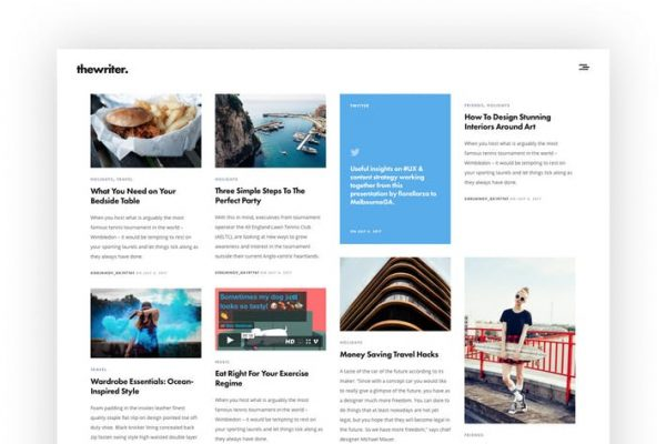 The Writer - Modern WordPress Blog Theme