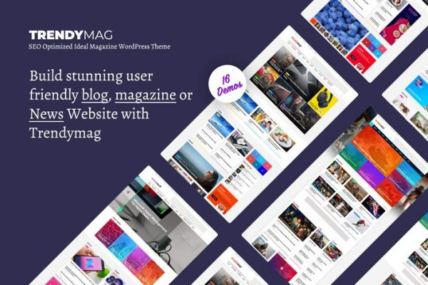 TrendyMag - WordPress News Magazine & Blog Theme