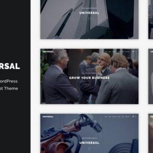 Universal - Corporate WordPress Multi-Concept Them