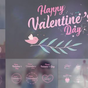 Valentine's Day Badge Pack